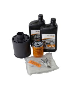 10KW Maintenance Kit (530cc Engine) Home Standby w/ 5W30 Synthetic Oil (Pre-Evolution)