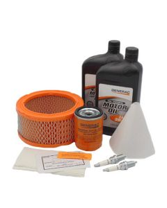 12 - 18KW Maintenance Kit (760/990cc Engines) Home Standby Extended Life w/ 5W30 Oil (Pre-Evolution)