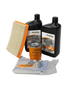 6KW Maintenance Kit (530cc Engine) EcoGen w/5W30 Synthetic Oil (Post-Evolution)