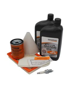 8KW Maintenance Kit (410cc Engine) w/ 5W30 Synthetic Oil (Post-Evolution)