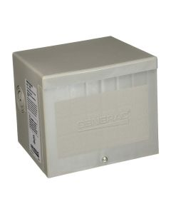 50 amp 4-Wire 125/250V Raintight Non-Metallic Power Inlet Box