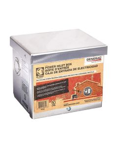 50 amp 125/250V Raintight Aluminum Power Inlet Box