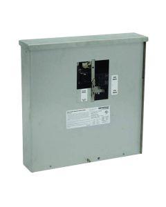 30 amp Manual Transfer Switch Outdoor Service Power Center for 7,500 Watt Portable Generators