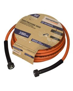 "Generac 50' x 5/16"" Orange Pressure Washer Hose 6620"