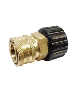 "Female Metric x 3/8"" FPT Adapter"